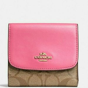 💖NEW WITH TAGS●COACH Wallet In Signature Canvas💖